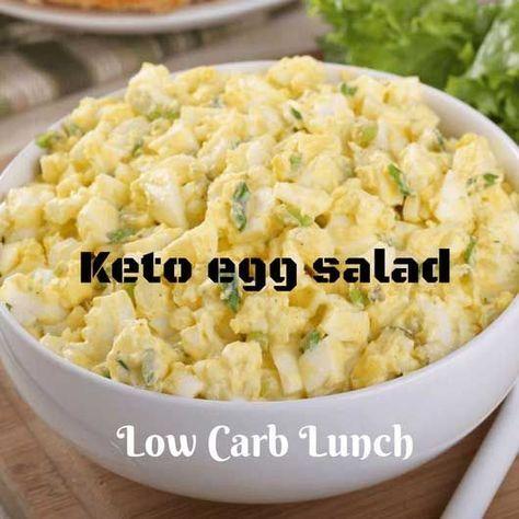 ow Carb Keto Egg Salad