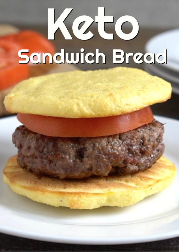 Keto Sandwich Bread – Only 5 Ingredients