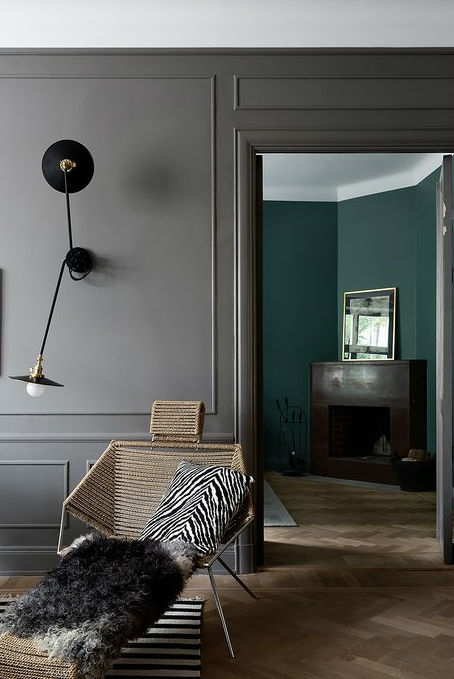 A Scandinavian Home With Grey Walls In All Its Glory Decoholic