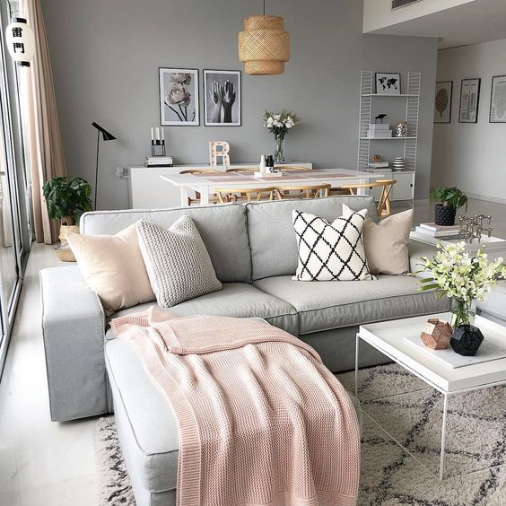 soft colors used in home decor