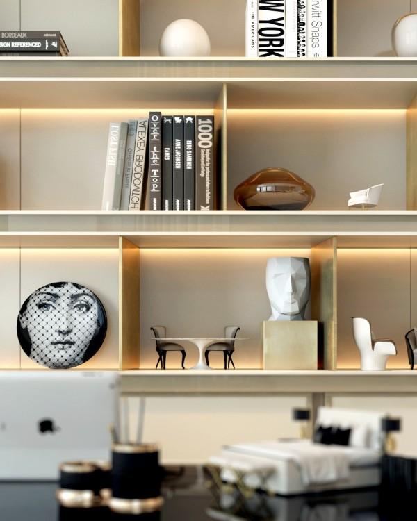 living room Shelf Styling Idea