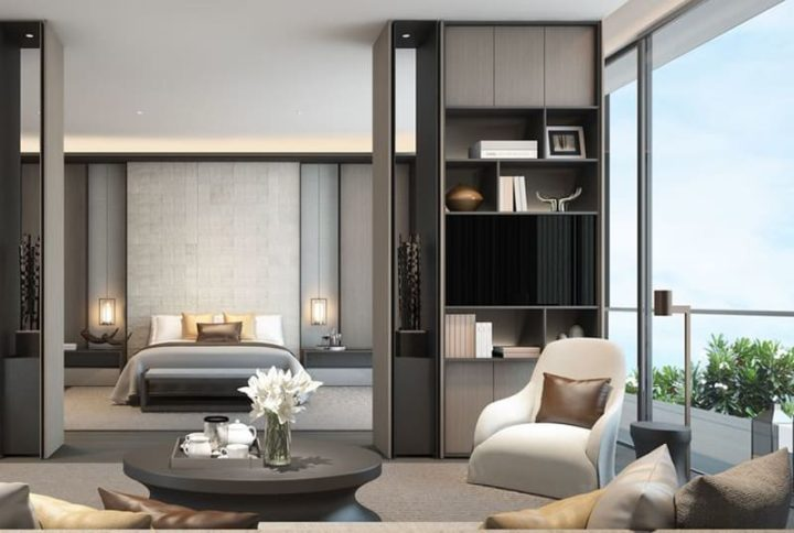 masculine apartment idea