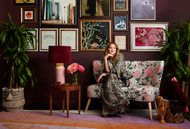 Drew Barrymore's Fall Home Line 6