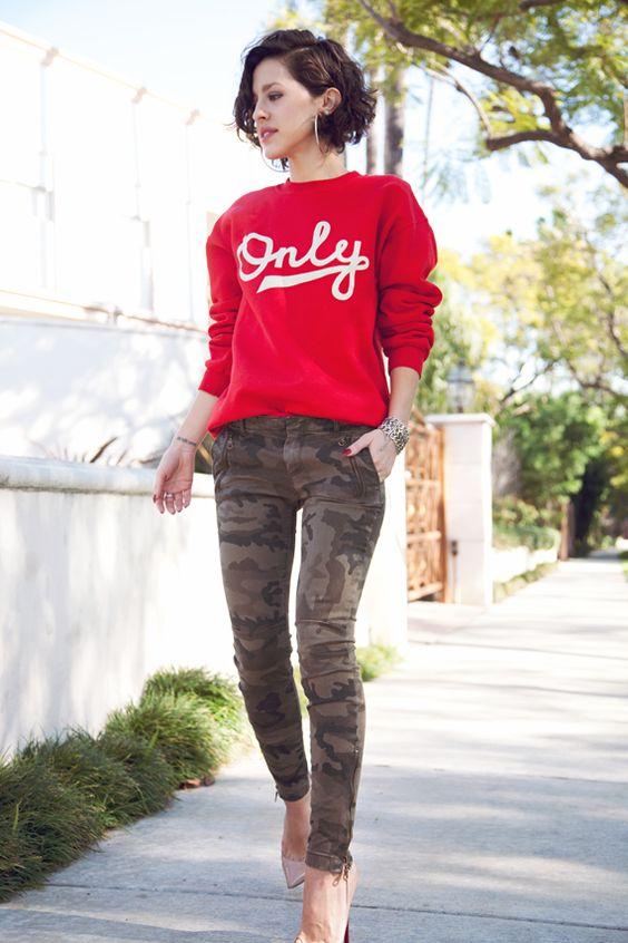 Hoodie - Sweatshirt & Heels 3