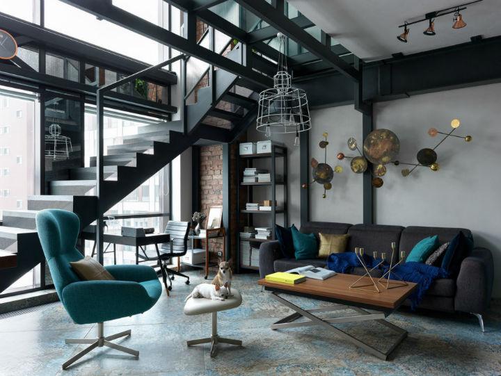 Tribeca style loft 72 м²
