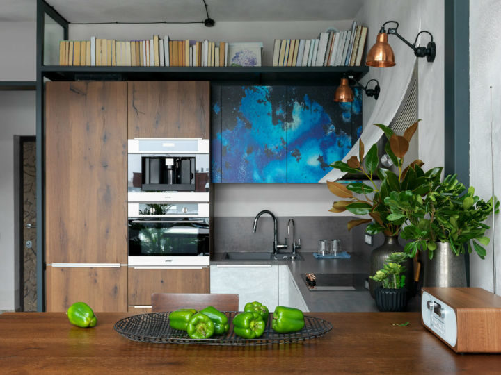modern wood kitchen idea