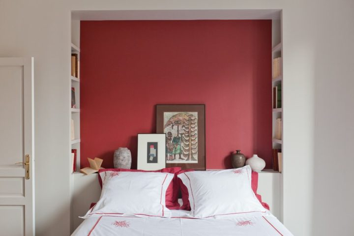 special color combination for bedroom