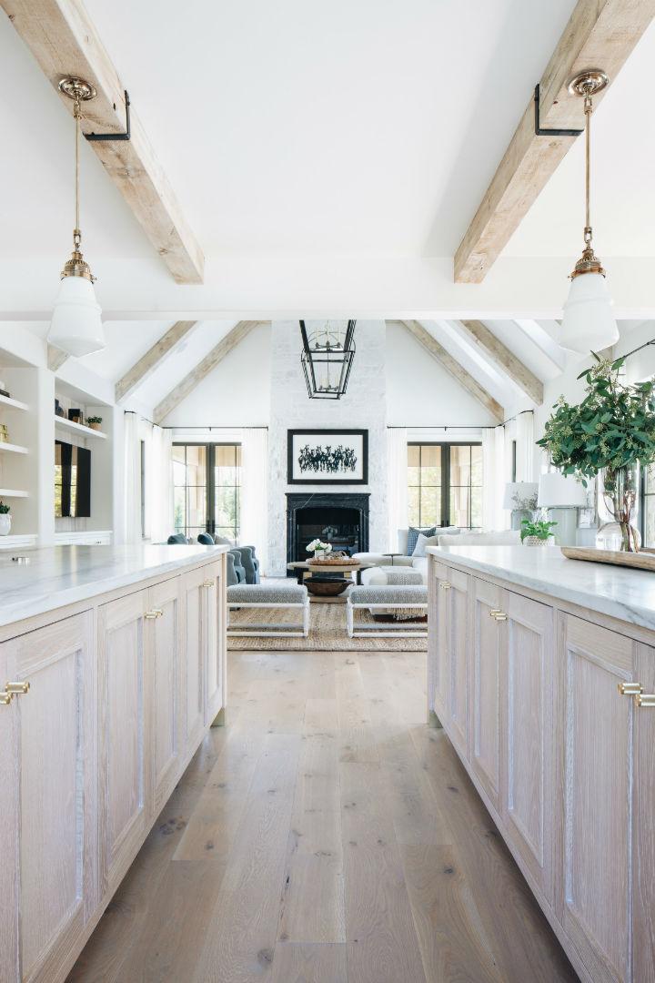 transitional white kitchen design 3