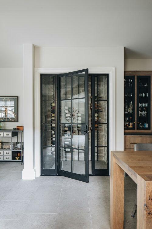transitional pantry design