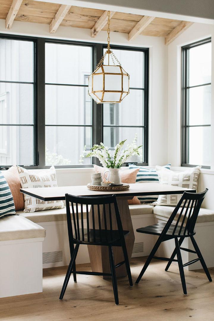 breakfast kitchen nook design