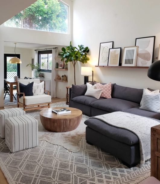 Living Room With Two Entrances
