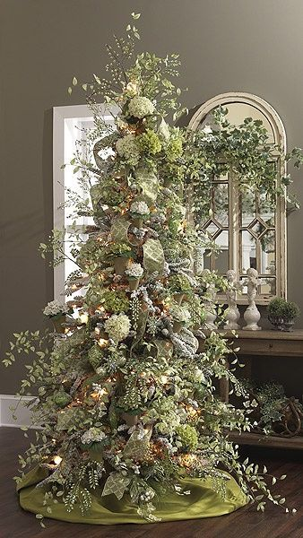 lime green Christmas color for 2019 decorations