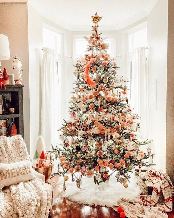 coral Christmas color for 2019