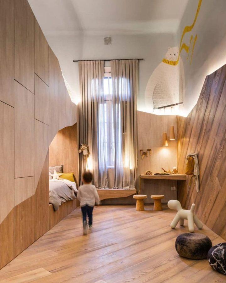 ultra modern design storage bunk bed