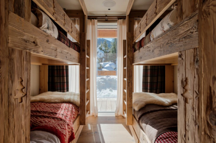 luxury chalet bedroom