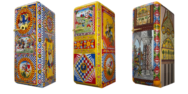 Refrigerators of Art Dolce&Gabbana and Smeg