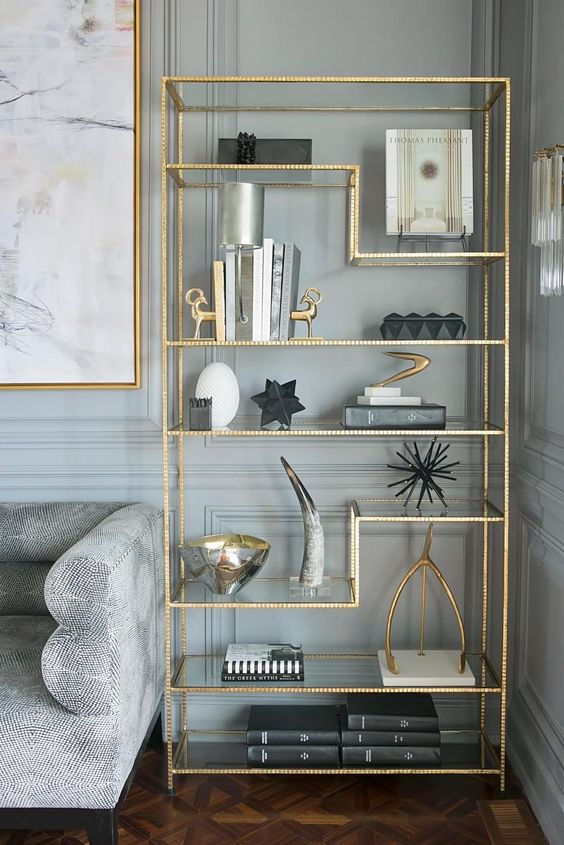 gold furniture on a budget