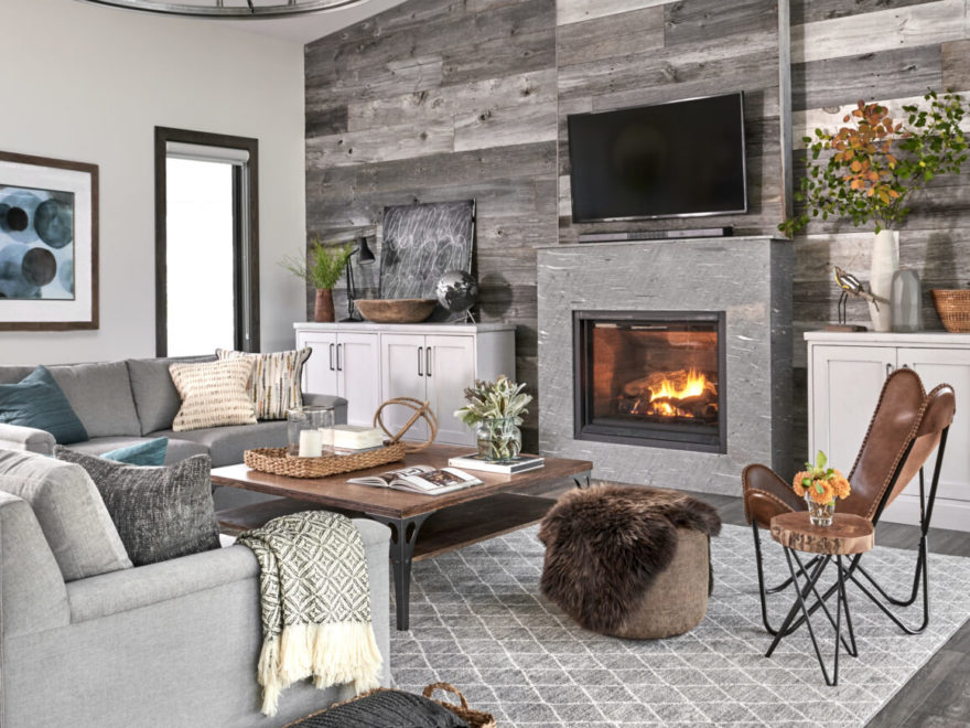 Modern Rustic Home Decor Ideas from decoholic.org