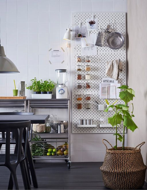 pegboard for home storage