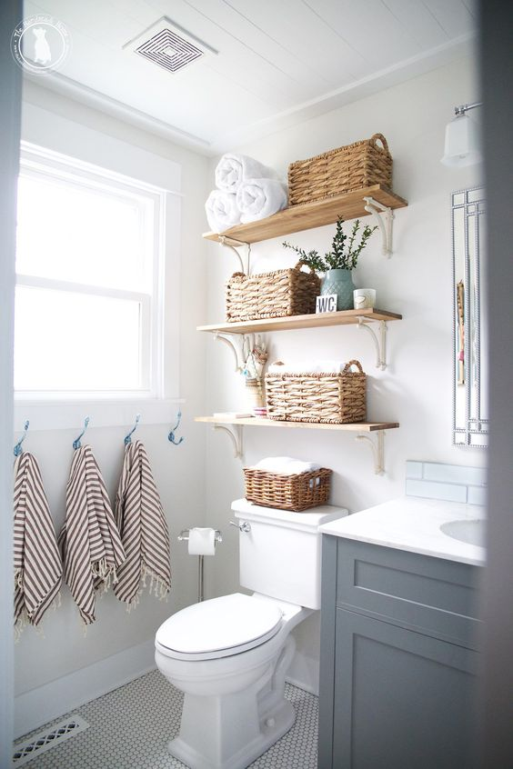 Bathroom and laundry storage solutions