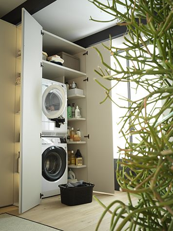 laundry modular storage systems