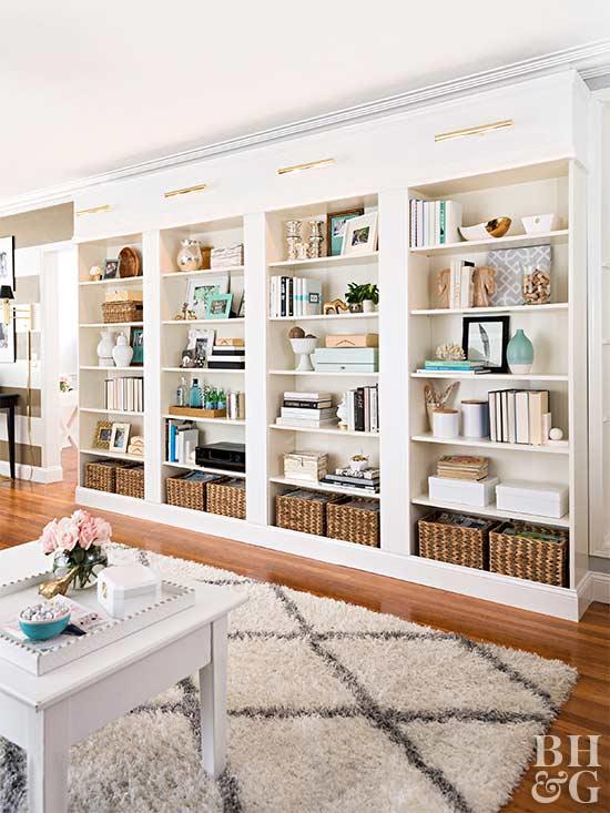 bookshelves for home storage