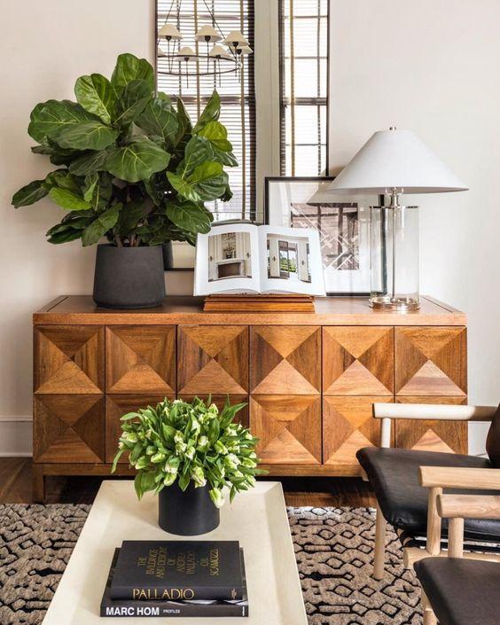 sideboard living room decor