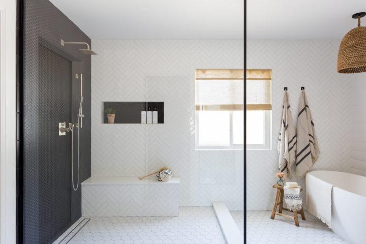 white functional interior design