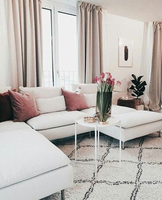 white and pastel colors in home decor