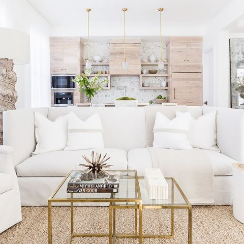two piece living room table