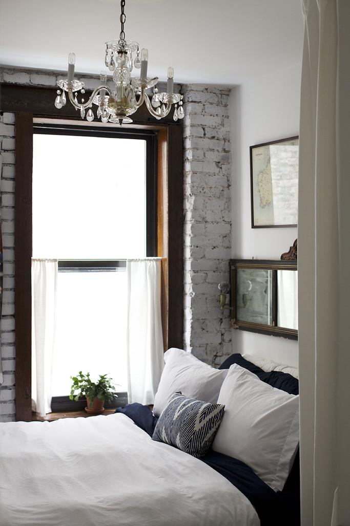 window in white bedroom