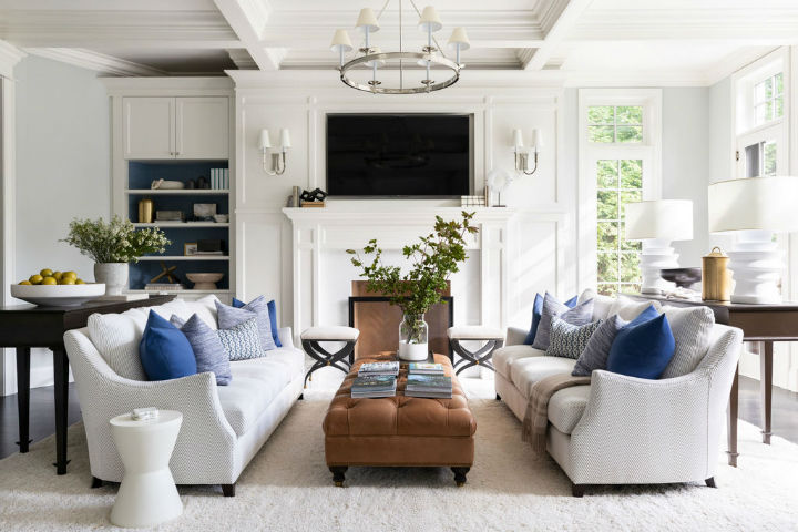 beautiful and inviting living room