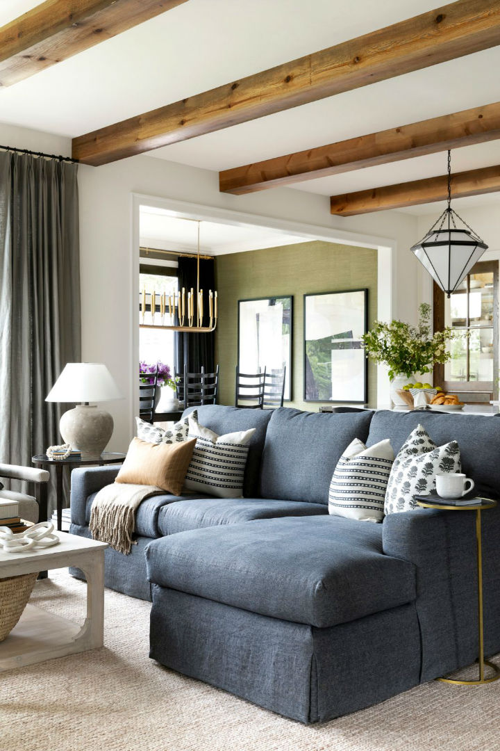 a beautiful and inviting living room