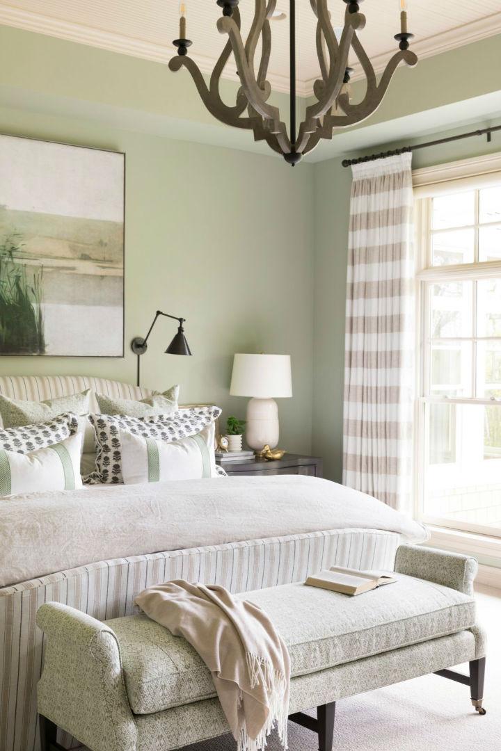 pastel colros in bedoom