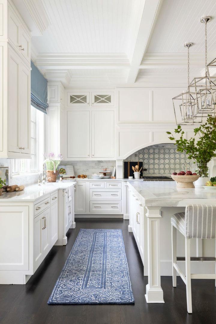 inviting white kitchen decor
