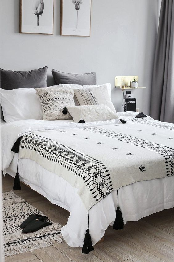 patterns in duvet bedding