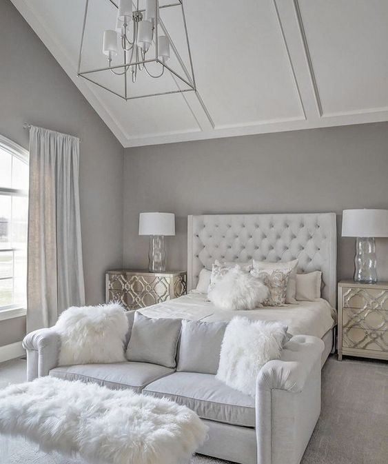 Grey and White Bedroom Ideas: Create Rooms of High Class ...