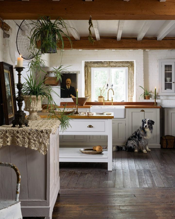 white country kitchen design idea