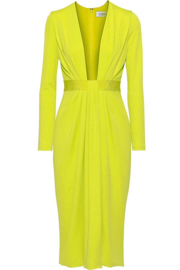 neon dress for your spring wardrobe