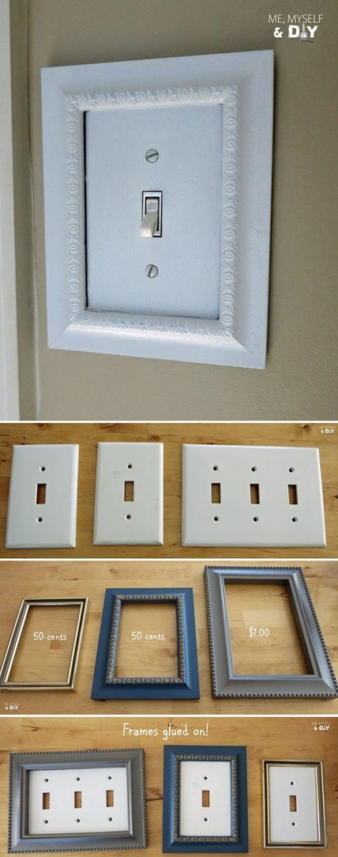 DIY switch decoration