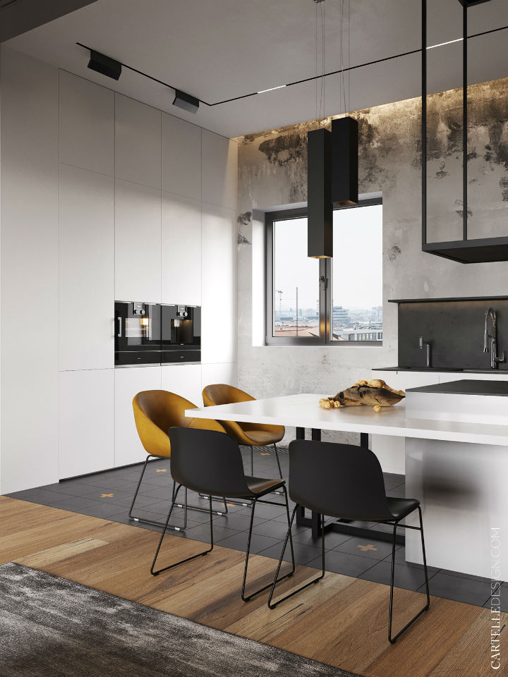 Truly Unique Up-to-date Contemporary Interior 10