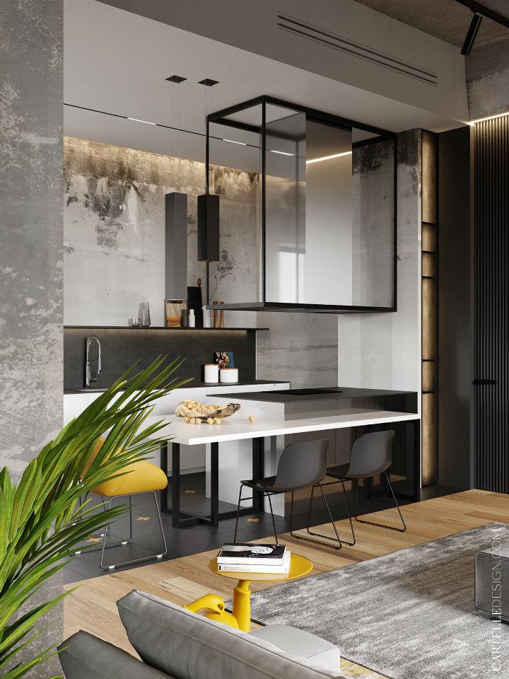 Truly Unique Up-to-date Contemporary Interior 12