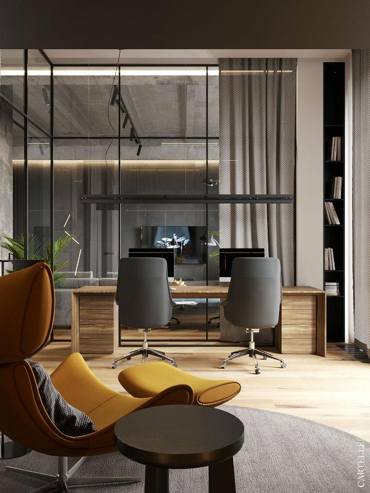 Truly Unique Up-to-date Contemporary Interior 15