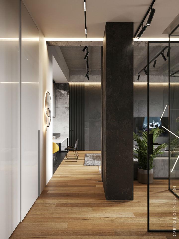 Truly Unique Up-to-date Contemporary Interior 16