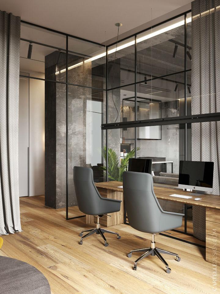 Truly Unique Up-to-date Contemporary Interior 17