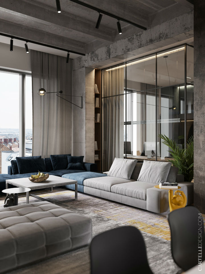 Truly Unique Up-to-date Contemporary Interior 3