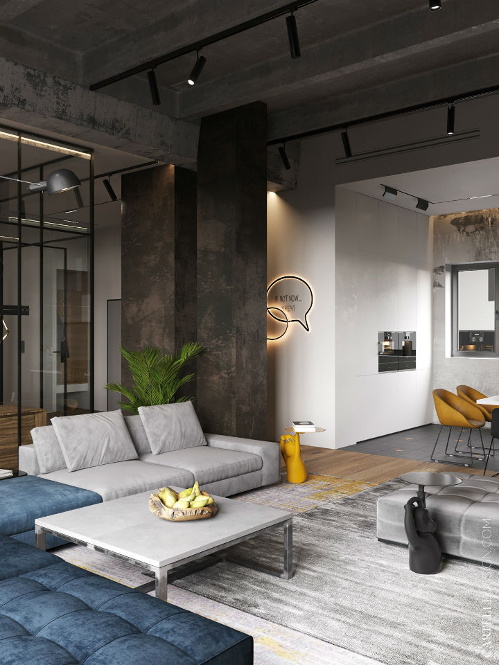 Truly Unique Up-to-date Contemporary Interior 4