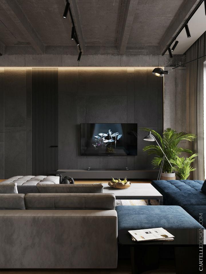 Truly Unique Up-to-date Contemporary Interior 5
