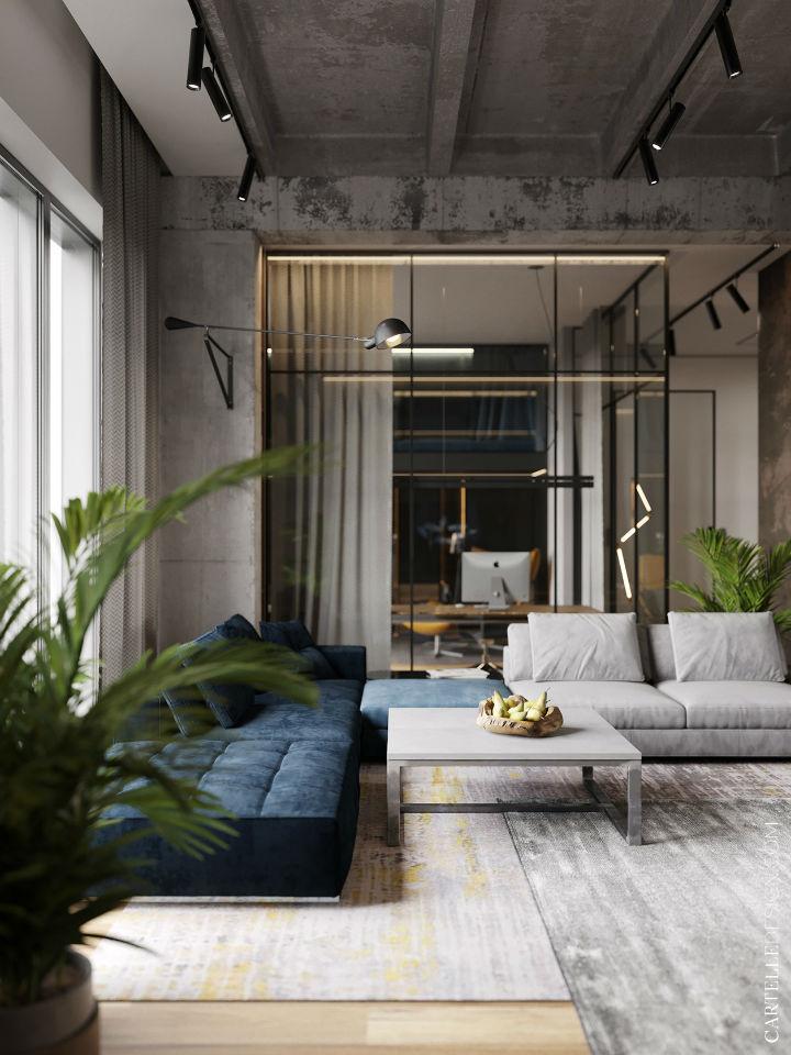 Truly Unique Up-to-date Contemporary Interior 7
