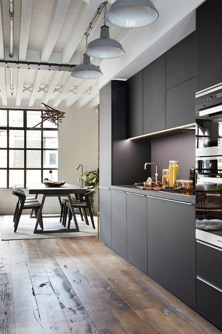 grey and white interior design